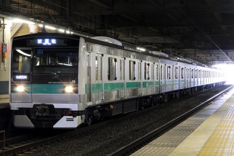 【JR東】E233系2000番代マト18編成 試運転
