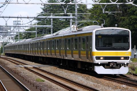 【JR東】209系ミツC506編成 東京総合車両センター入場