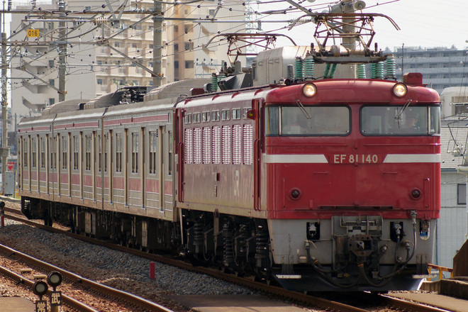【JR東】205系元ケヨ24編成3両 配給輸送