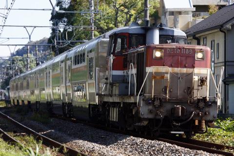 【JR東】E233系3000番代グリーン車8両 甲種輸送
