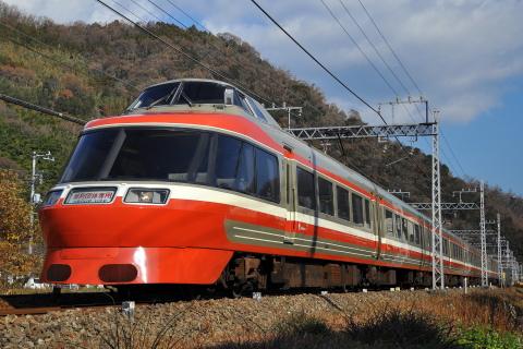 【小田急】7000形7004F特別団体専用列車「新春よみうり号」運転