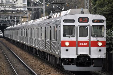 【東急】8500系8542F 返却回送