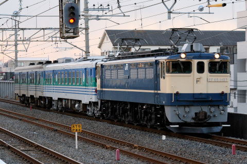 【JR東】キハ38-1002+キハ37-2 郡山総合車両センター出場