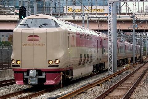 【JR西】285系使用 団体臨時列車運転