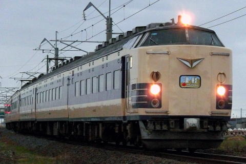 【JR東】「リバイバル津軽号」運転