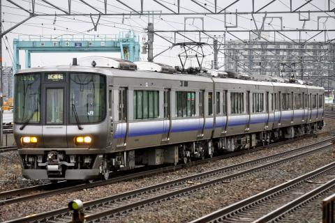 【JR西】223系2500番代ヒネHE428編成 本線試運転