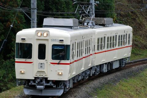 【富士急】富士急1000形(モハ1001+モハ1101) 京王電鉄塗装に変更