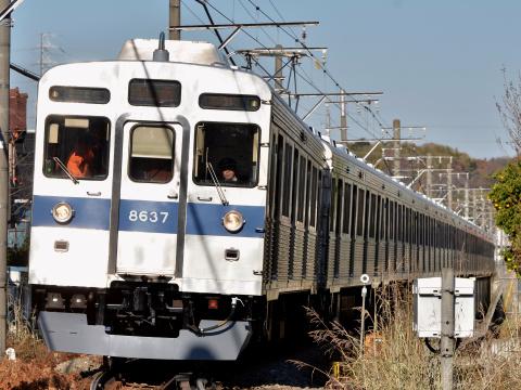 【東急】8500系8637F 長津田車両工場出場・試運転