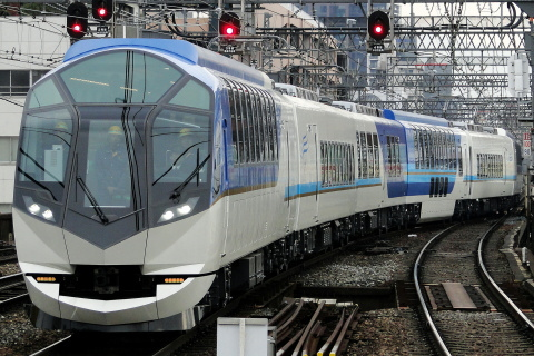 【近鉄】50000系「しまかぜ」SV02編成 試運転