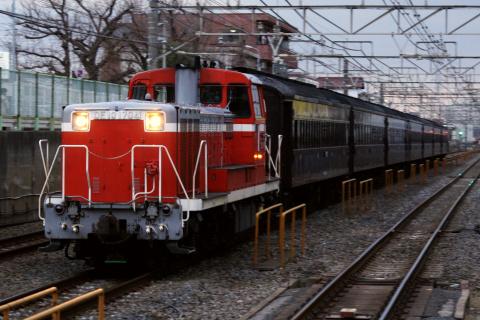 【JR東】旧型客車7両 幕張で車両整備(11日)