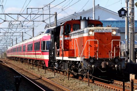 【小田急】7000形7003F(LSE) 甲種輸送