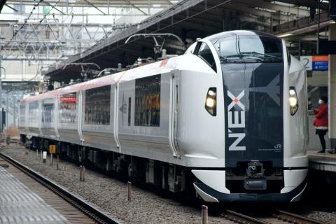 【JR東】E259系クラNe005編成 大宮総合車両センター出場
