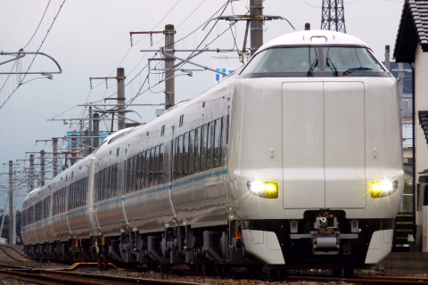 【JR西】287系日根野車9両 試運転