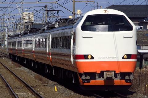 【JR東】485系仙台車(元ヤマG55+G58編成) 会津若松へ回送