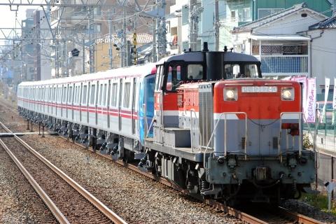 【都営】大江戸線用12-600形12-628F 甲種輸送