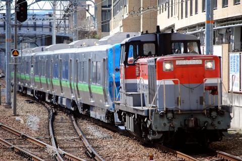 【JR北】733系サウB103+B104編成 甲種輸送