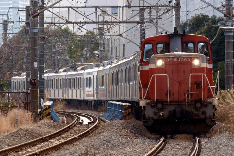 【東急】7500系『TOQ i』+Y500系Y516F 甲種輸送