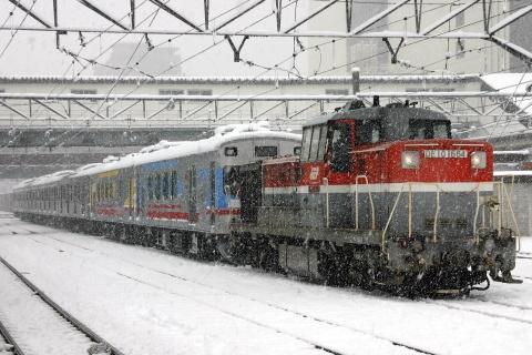 【東急】7500系『TOQ i』+Y500系Y516F 甲種輸送 (2日目)