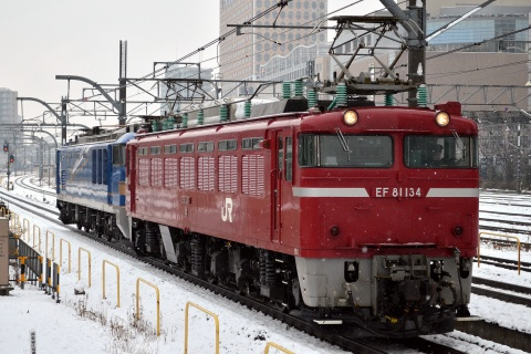【JR東】EF510-505 秋田車両センター入場配給