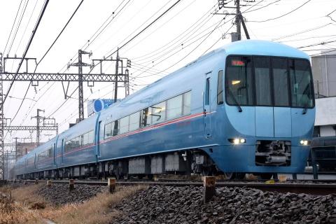 【小田急】60000形60254F(MSE) 試運転