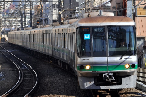 【メトロ】06系06-101F 小田急線新宿駅へ入線