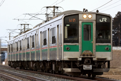【JR東】701系センF4-29編成 返却回送