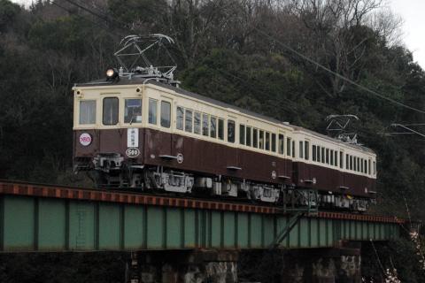 【琴電】120号+500号使用 レトロ車両特別運行