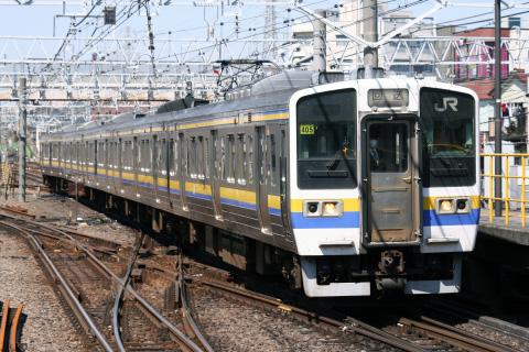【JR東】211系マリ405編成 疎開先から返却