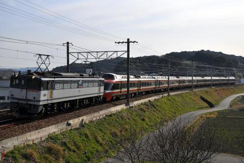 【小田急】7000形7004F(LSE) 日本車両入場甲種