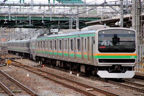 【JR東】E231系ヤマU504編成 東京総合車両センター入場