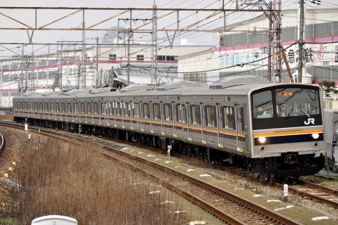 【JR西】205系ミハC2編成 吹田工場構内試運転