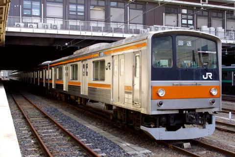 【JR東】205系ケヨM22編成 大宮総合車両センター入場