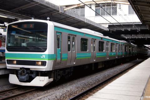 【JR東】E231系マト132編成 東京総合車両センター出場