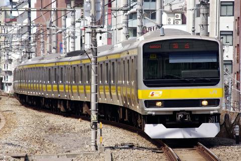 【JR東】E231系ミツB14編成 東京総合車両センター入場