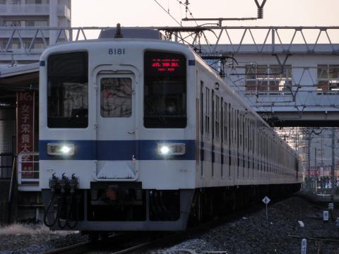 【東武】8000系8181F+8560F 試運転