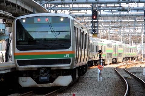 【JR東】E231系コツK08編成 東京総合車両センター出場