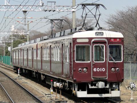 【阪急】6000系6010F 返却回送