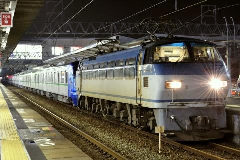 【メトロ】千代田線16000系16114F 甲種輸送