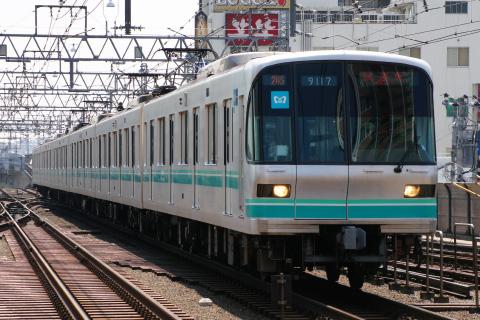 【メトロ】9000系9117F 東急目黒線内試運転