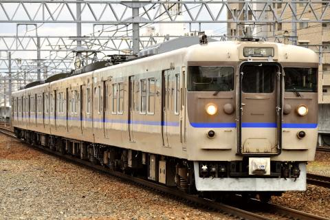 【JR西】113系ミハS36編成 下関へ回送