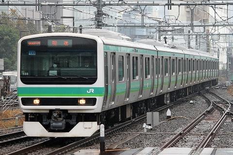 【JR東】E231系マト133編成 東京総合車両センター出場