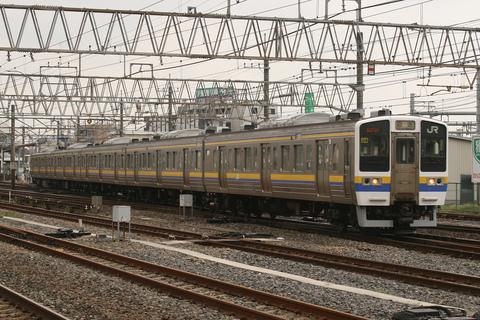 【JR東】211系3000番代マリ408編成 返却回送