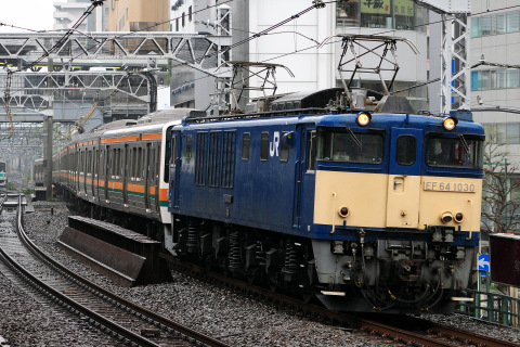 【JR東】211系チタN52+N55編成 配給輸送