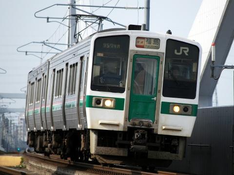 【JR東】719系使用 臨時快速列車 仙台~福島間で運転
