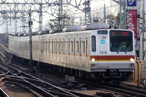 【メトロ】7000系7115F 東横・みなとみらい線で日中試運転