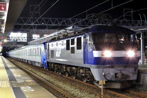 【メトロ】千代田線16000系16115F 甲種輸送