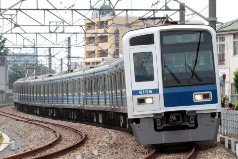 【西武】6000系6106F 玉川上水基地出場