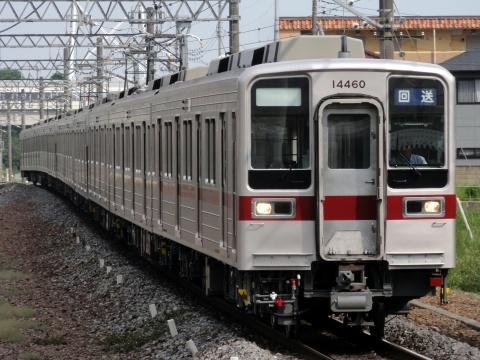 【東武】10030系11667F+11460F 川越工場出場