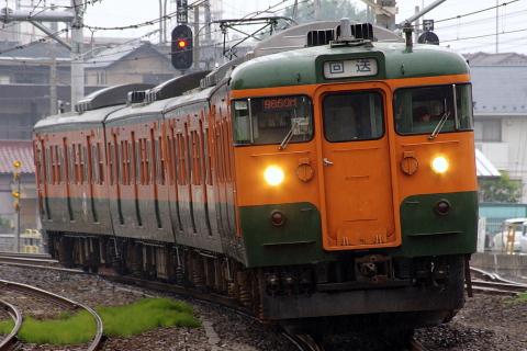 【JR東】115系タカT1090編成 鹿沼花火大会に伴う貸出