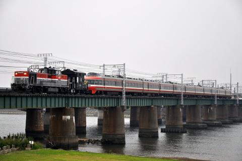 【小田急】7000形7004F(LSE)日本車両出場甲種